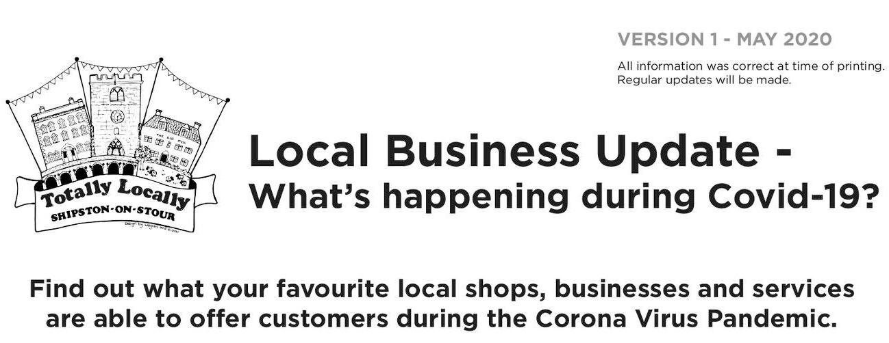 What Shipston Shops are Doing During Coronavirus Crisis A Totally Locally Shipston Guide